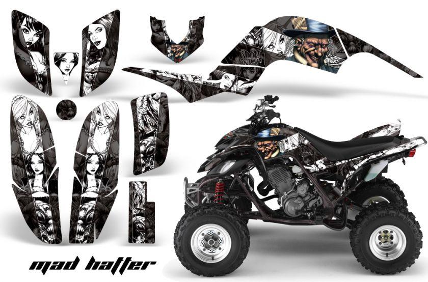 AMR RACING ATV QUAD GRAPHIC STICKER KIT YAMAHA RAPTOR 660 PART FREE US