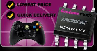 Ultra V2 8 Mod Adjustable Xbox 360 Rapid Fire Controller Mod Kit