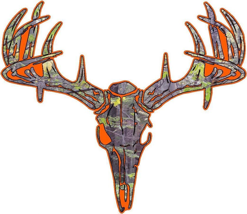 Camo Deer Skull S4 Vinyl Sticker Decal Hunt Whitetail Buck L: popscreen.com/p/mte5mzc0mdmy/-camo-deer-skull-s4-vinyl-sticker...