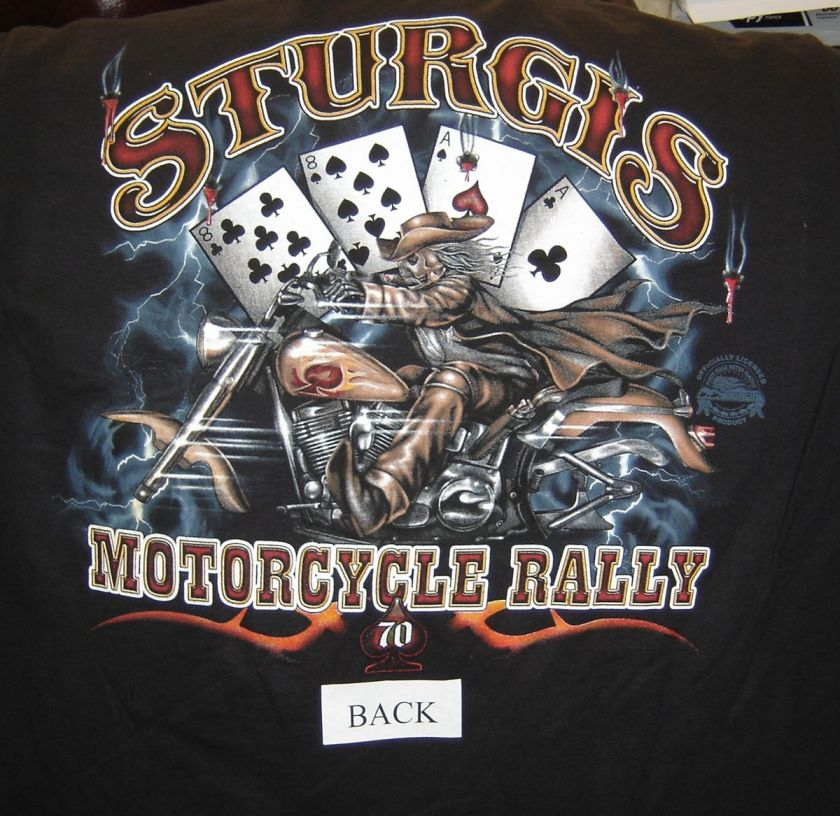 Bill, Harley Motorcycle T shirts,70th.sturgis rally biker sale