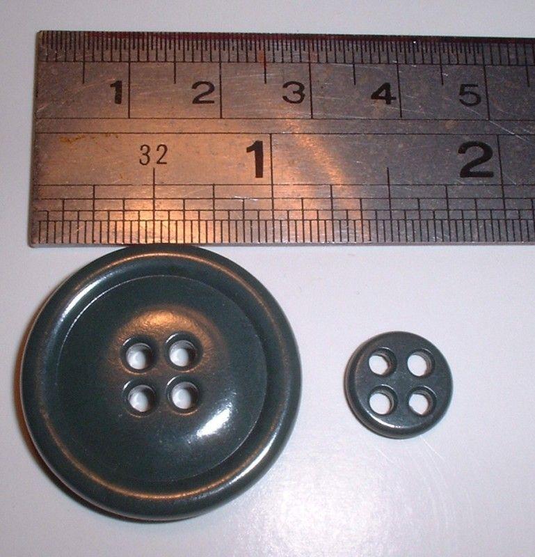 USAF N 3B N3B N3 B parka replacement button sage green