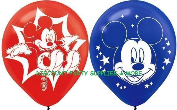 Disney Mickey Mouse Clubhouse Mickey Latex Party Balloons Decorations