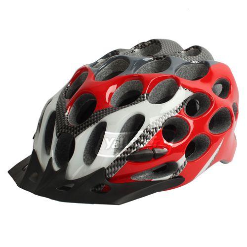 brandnew new 41 Holes Bicycle bike cycle Honeycomb Helmet Red